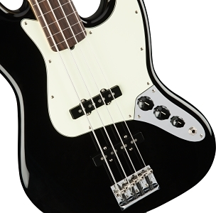 American Professional Jazz Bass® Fretless - Black