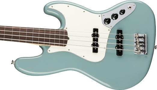 American Professional Jazz Bass® Fretless - Sonic Gray