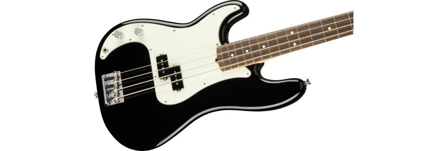 American Professional Precision Bass® Left-Hand - Black