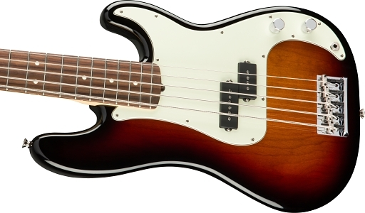American Professional Precision Bass® V - 3-Color Sunburst