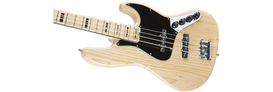 American Elite Jazz Bass® - Natural