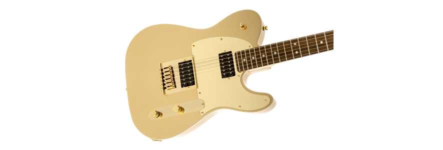 Squier® J5 Telecaster® - Frost Gold