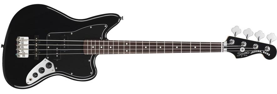 Vintage Modified Jaguar® Bass Special SS (Short Scale) - Black