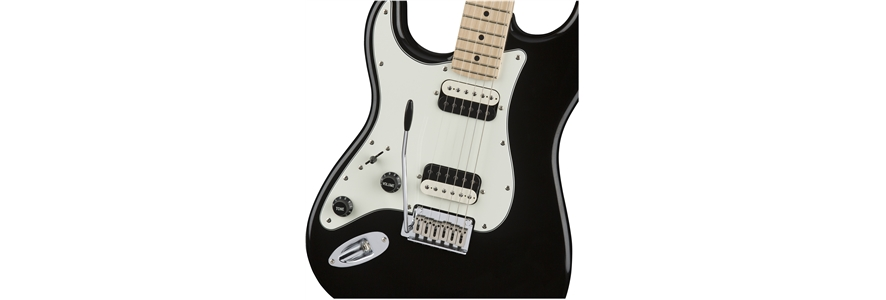 Contemporary Stratocaster® HH Left-Handed - Black Metallic