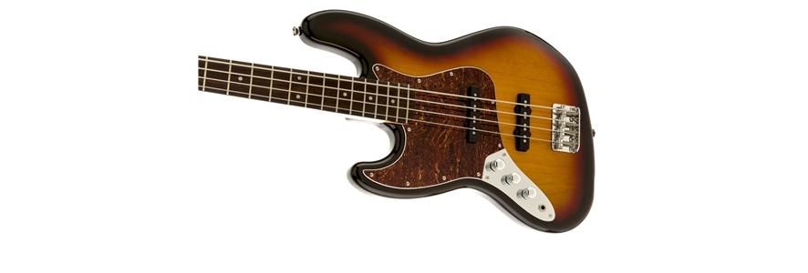Vintage Modified Jazz Bass® Left-Handed - 3-Color Sunburst