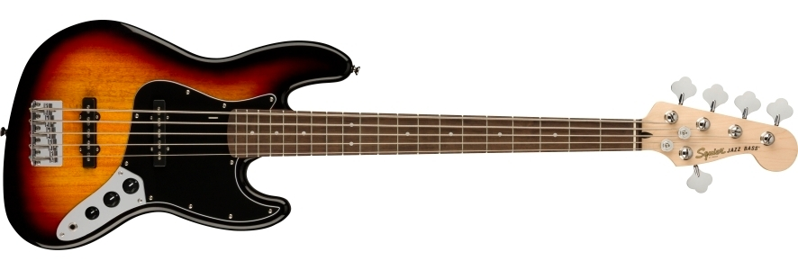 Affinity Series™ Jazz Bass® V view 1.0