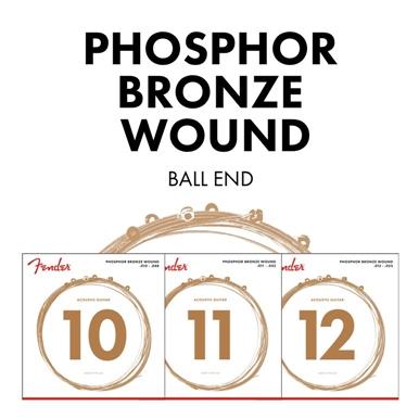 Phosphor Bronze Acoustic Guitar Strings view 1.0