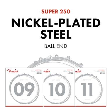 Super 250's Nickel-Plated Steel Strings view 1.0