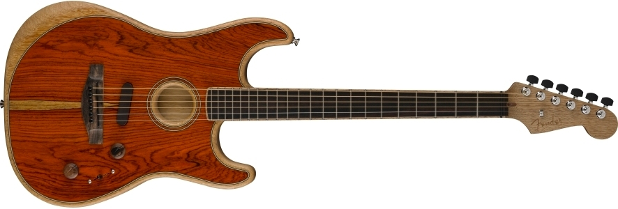 American Acoustasonic® Stratocaster® Cocobolo view 1.0