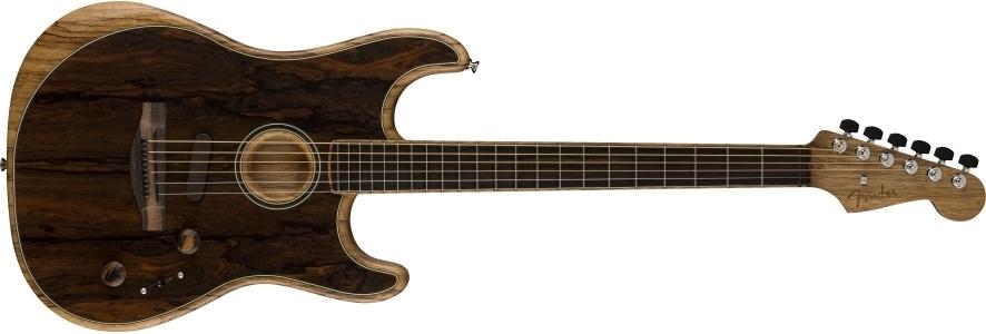 American Acoustasonic® Stratocaster® Ziricote view 1.0