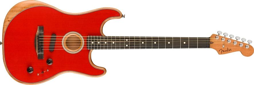 American Acoustasonic® Stratocaster® view 1.0