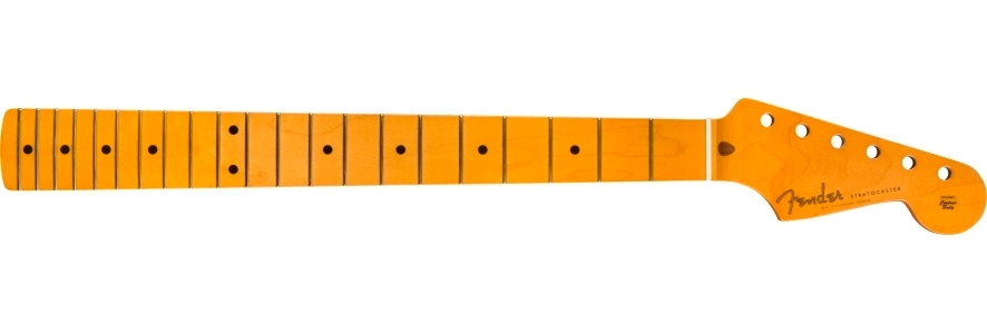 """Classic Series '50s Stratocaster® Neck with Lacquer Finish, Soft """"V"""" Shape - Maple Fingerboard view 1.0"""