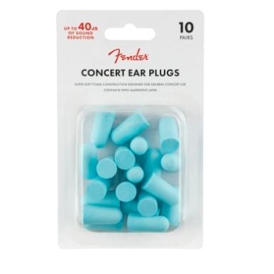 Concert Ear Plugs (10 Pair), Daphne Blue view 1.0