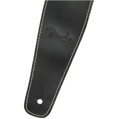 """Broken-In Leather Strap, 2.5"""" - Black"""