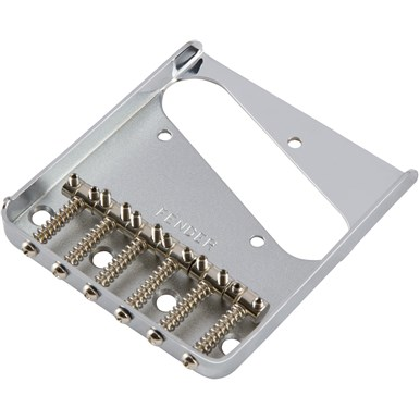6-Saddle Vintage-Style Telecaster® Bridge Assembly -