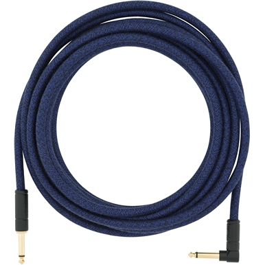 Angled Festival Instrument Cable, Blue view 1.0