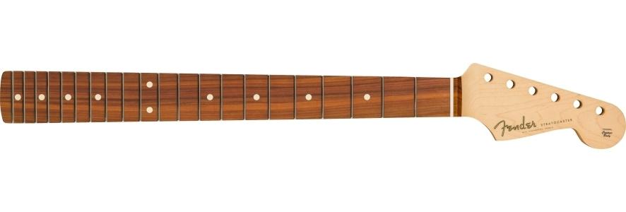 Classic Player 60's Stratocaster Neck, 21 Med Jumbo Frets, Pau Ferro, C Shape view 1.0