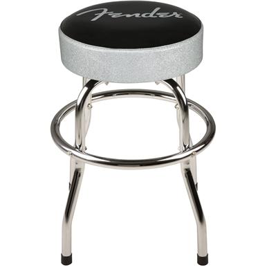 Fender™ Silver Sparkle Barstool -