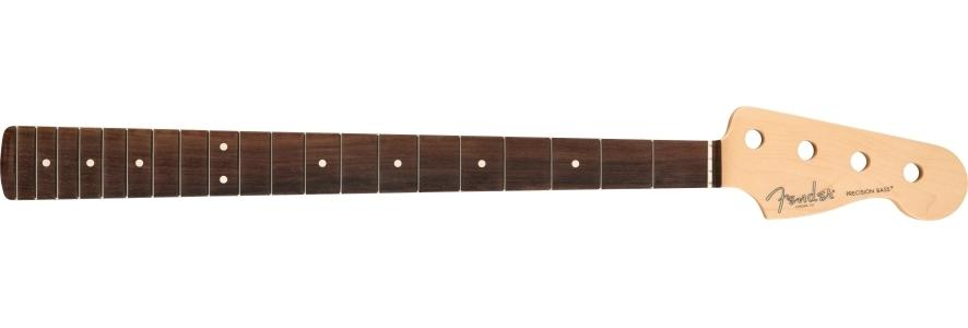 "American Professional Precision Bass Neck, 20 Narrow Tall Frets, 9.5"" Radius, Rosewood view 1.0"