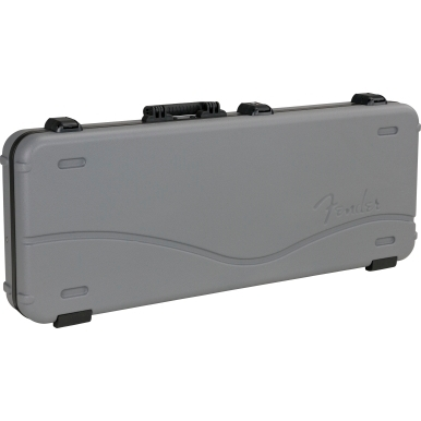 Deluxe Molded Strat/Tele Case, Silver/Blue view 1.0