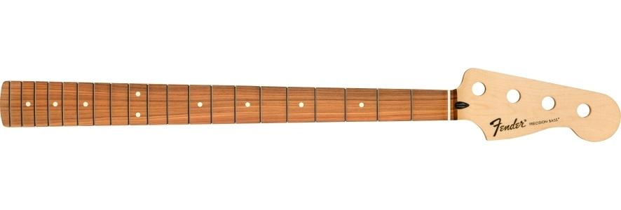 Standard Series Precision Bass® Neck, 20 Medium Jumbo Frets, Pau Ferro view 1.0