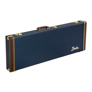 Classic Series Wood Case Strat/Tele, Navy Blue view 1.0