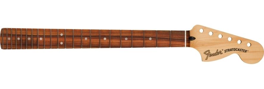 "Deluxe Series Stratocaster® Neck, 12"" Radius, 22 Narrow Tall Frets, Pau Ferro Fingerboard view 1.0"