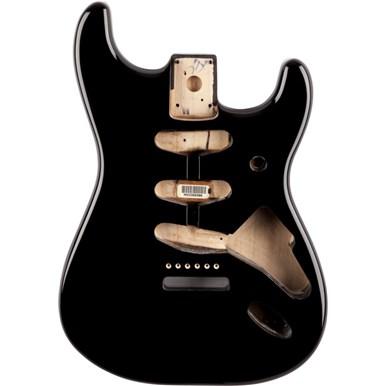 Classic Series 60's Stratocaster® SSS Alder Body Vintage Bridge Mount - Black -