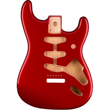 Classic Series 60's Stratocaster® SSS Alder Body Vintage Bridge Mount - Candy Apple Red view 1.0