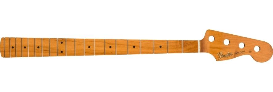 "Roasted Maple Vintera® '60's Jazz Bass® Neck, 20 Vintage Frets, 7.25"", ""C"" Shape view 1.0"