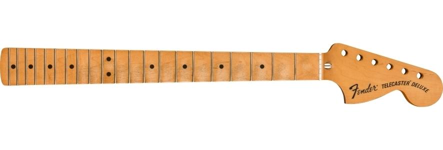 Road Worn® '70's Telecaster® Deluxe Neck, 21 Medium Jumbo Frets, Maple Fingerboard, C Shape view 1.0