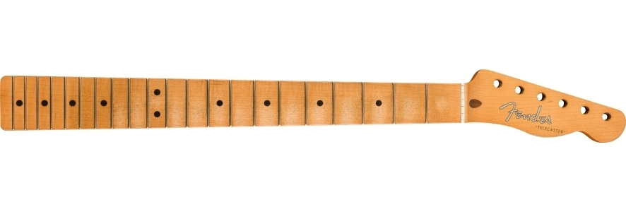 Road Worn® '50s Telecaster® Neck, 21 Vintage Tall Frets, Maple, U Shape view 1.0
