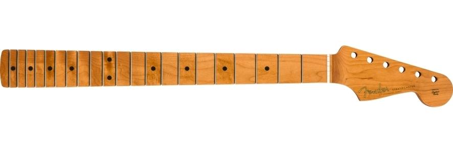 "Roasted Maple Vintera® Mod '60's Stratocaster® Neck, 21 Medium Jumbo Frets, 9.5"", ""C"" Shape view 1.0"