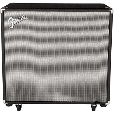 Fender rumble 115 cabinet v3 black silver for Black and silver cabinet