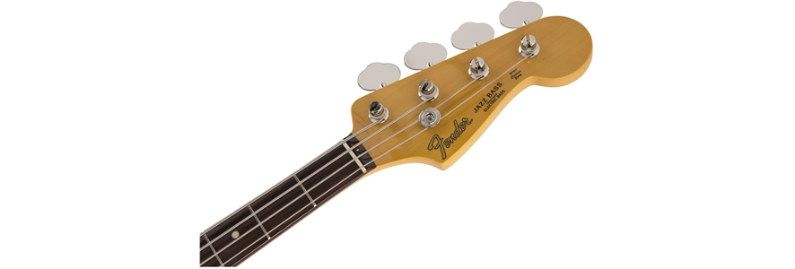 Made in Japan Traditional 60s Jazz Bass® Limited Run Vintage White -