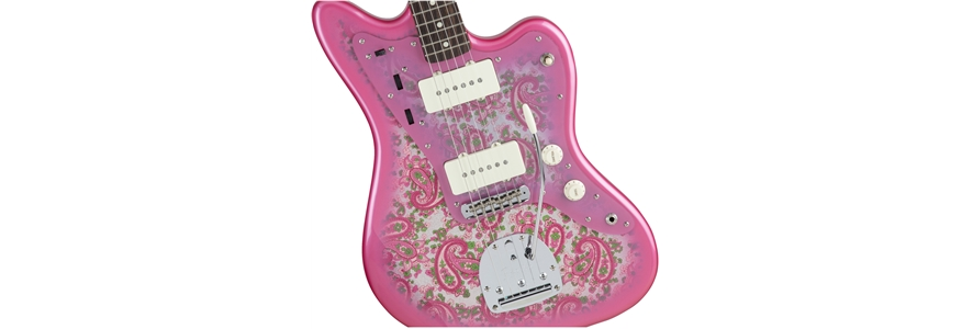 Made in Japan Traditional 60s Jazzmaster® - Pink Paisley