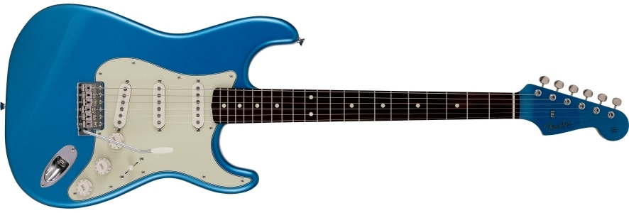 2021 Collection Made in Japan Traditional 60s Stratocaster® Roasted Neck view 1.0