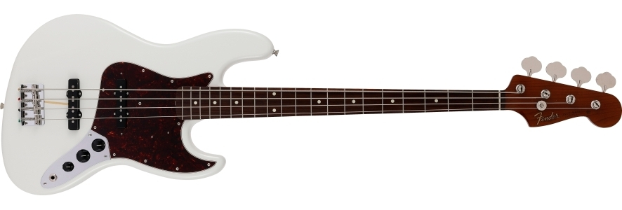 2021 Collection Made in Japan Traditional 60s Jazz Bass® Roasted Neck view 1.0