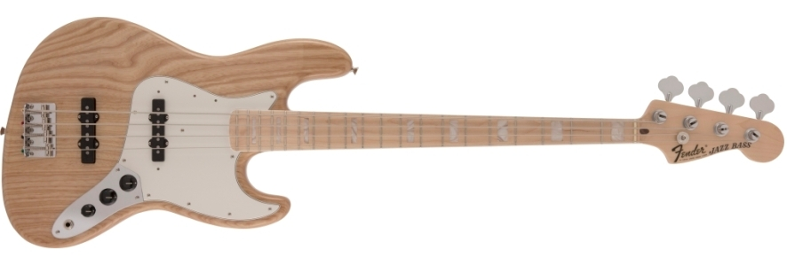 Made in Japan Heritage 70s Jazz Bass® view 1.0