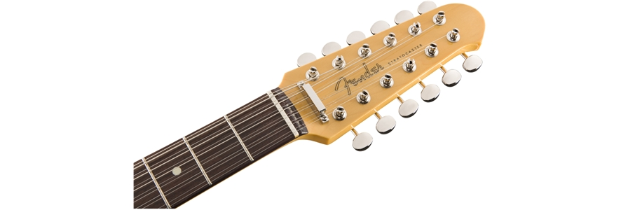FSR MIJ Traditional Stratocaster® XII - Olympic White