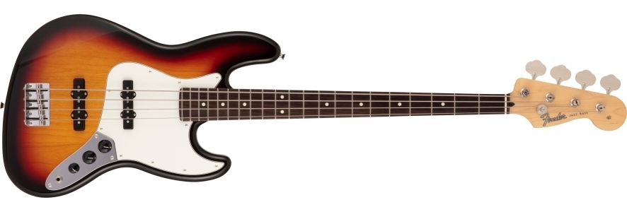 Made in Japan Hybrid II Jazz Bass® view 1.0