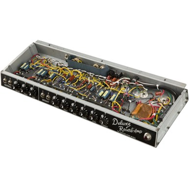 '64 Custom Deluxe Reverb® - Black and Silver