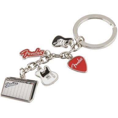 Fender™ Multi-Icon Keychain -