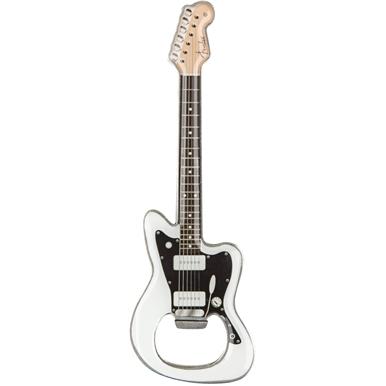 Fender™ Jazzmaster™ White Bottle Opener -