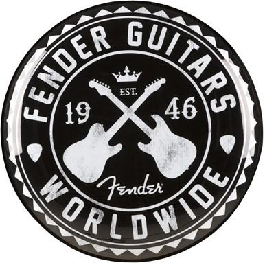 Fender Worldwide Barstool, Black, 24 In -