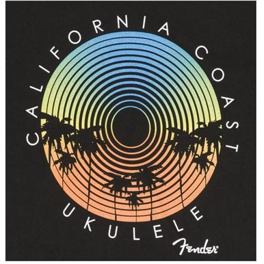 Fender® Cali Coastal Record Player Men's Tee - Black