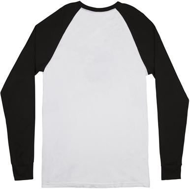Fender® Seal Men's Raglan T-Shirt - White and Black
