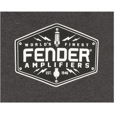 Fender® Bolt Down T-Shirt, Charcoal - Charcoal