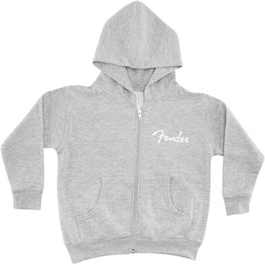 Fender® Toddler Zip Hoodie - Gray
