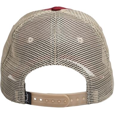Fender® Spaghetti Logo Washed Trucker Hat -